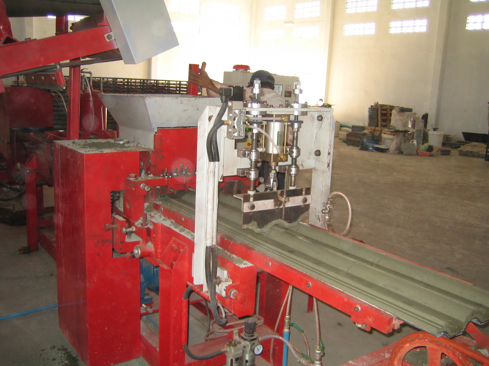 Concrete Extrusion Machine : Photos