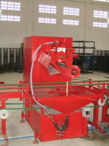FIRST COLOUR APPLICATOR MACHINE