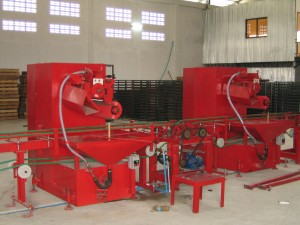 FIRST & SECOND COLOUR APPLICATOR MACHINES